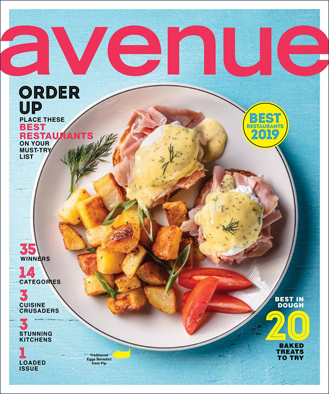 Avenue Magazine - Photo: Curtis Trent - Food Stylist Patricia Bullock