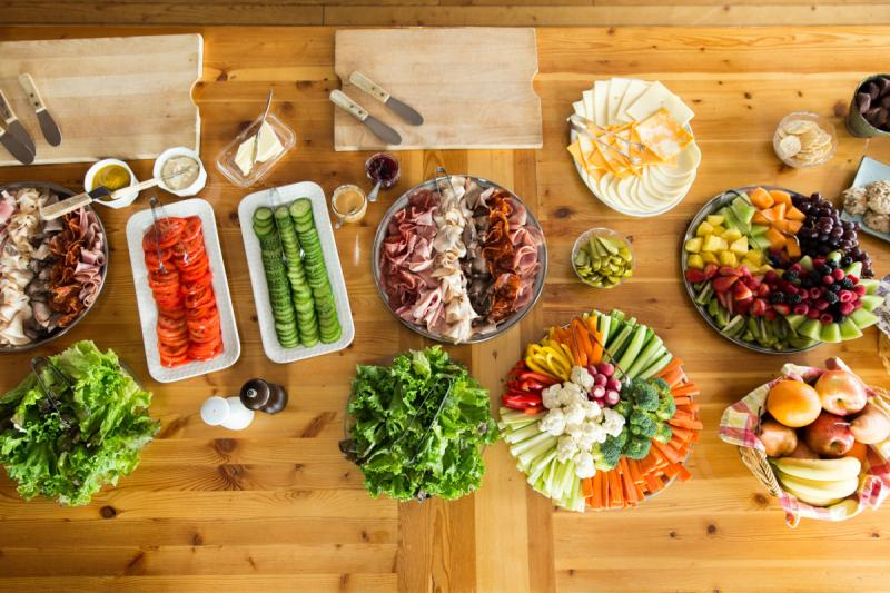 Purcell Mountain Lodge - Photo: Bruce Clarke - Food Styling Patricia Bullock