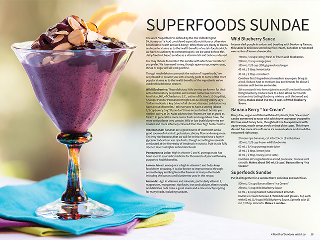 A Month of Sundaes - Photo: Kariann Goodkey - Food Stylist Patricia Bullock - Prop Stylist Patricia Bullock